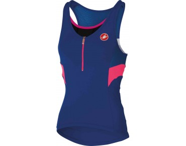 Castelli REGINA women's top surf blue/drive blue