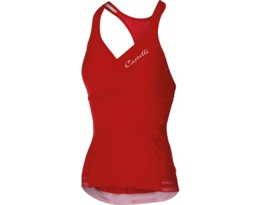 Castelli BELLISSIMA WONDER women's top red
