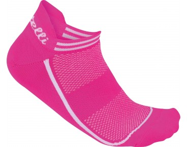 Castelli INVISIBLE women's socks pink