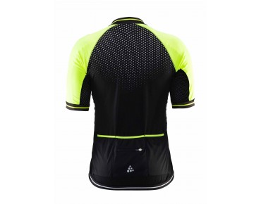 CRAFT GLOW jersey black/flumino