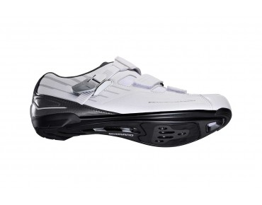 SHIMANO SH-RP3 road shoes, extra-wide white