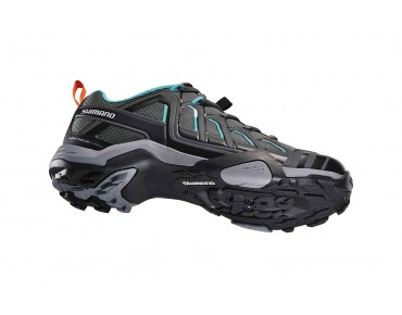 SHIMANO SH-WM34 women's MTB/trekking shoes grün