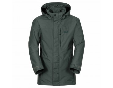 Jack Wolfskin BROOKS RANGE FLEX jacket greenish grey checks