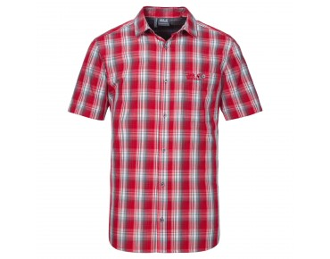 Jack Wolfskin FAIRFORD shirt red fire checks