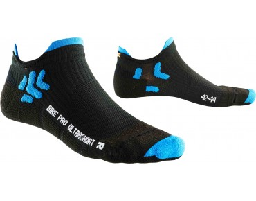 X BIONIC BIKE PRO ULTRASHORT socks black/french blue