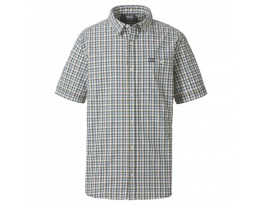 Jack Wolfskin BYRON shirt greenish grey checks