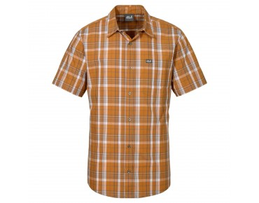 Jack Wolfskin HOT CHILI shirt curcuma checks