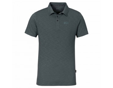 Jack Wolfskin TRAVEL POLO 2 polo shirt greenish grey