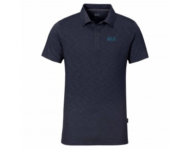 Jack Wolfskin TRAVEL POLO 2 polo shirt night blue