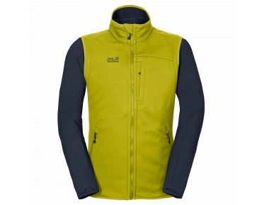 Jack Wolfskin ROLLER COASTER 3in1 jacket wild lime
