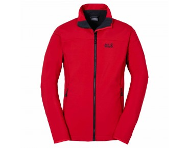 Jack Wolfskin ELEMENT SOFTSHELL jacket red fire