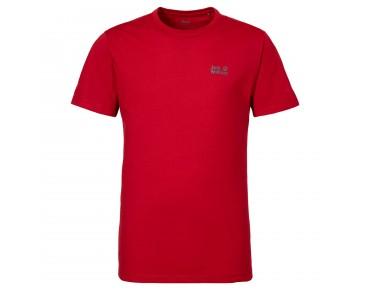 Jack Wolfskin ESSENTIAL FUNCTION 65 t-shirt red fire