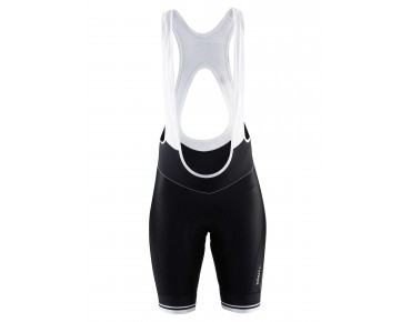 CRAFT BELLE Damen Trägerhose black/white logo