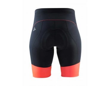 CRAFT VELO SHORTS women's cycling shorts black/shock