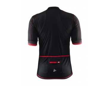 CRAFT PUNCHEUR Trikot black/bright red