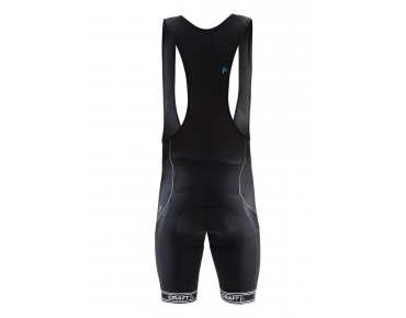 CRAFT VELO bib shorts black/white logo