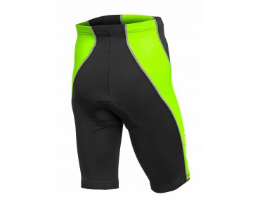 ROSE DESIGN III cycling shorts black/fluo green