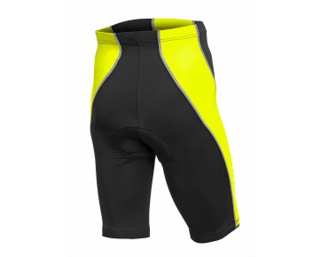 ROSE DESIGN III fietsbroek black/fluo yellow