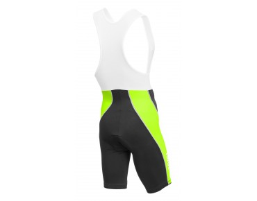 ROSE DESIGN III bib shorts black/fluo green