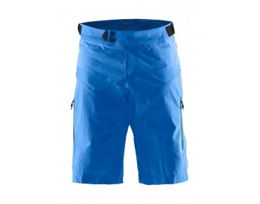 CRAFT X-OVER cycling shorts view/drop/white