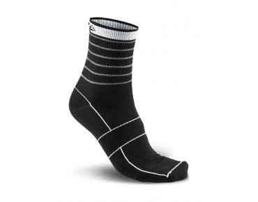 CRAFT GLOW Socken black/silver