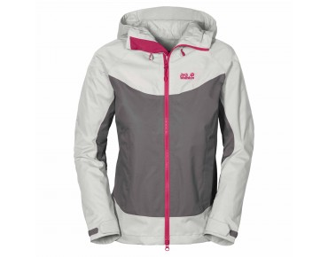 Jack Wolfskin RIDGE women's jacket tarmac grey