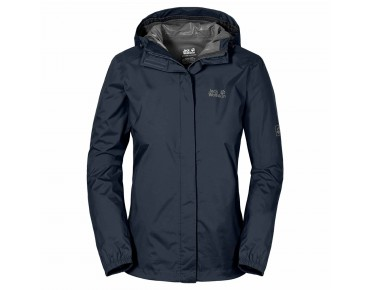 Jack Wolfskin CLOUDBURST Damen Jacke night blue