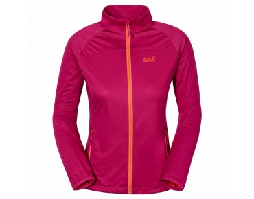 Jack Wolfskin CROSSWIND women's softshell jacket azalea red