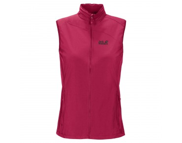 Jack Wolfskin ACTIVATE women's vest azalea red