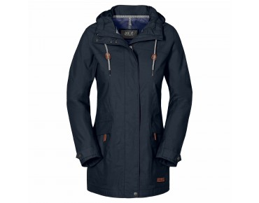 Jack Wolfskin CAMEIA women's parka night blue