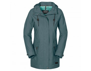Jack Wolfskin CAMEIA women's parka north atlantic