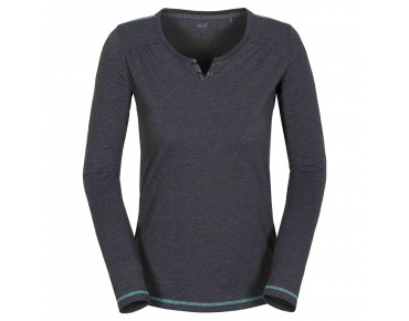 Jack Wolfskin HEATHER long-sleeved shirt for women phantom