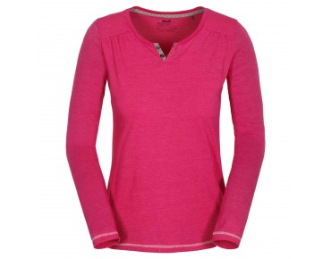 Jack Wolfskin HEATHER Damen Longsleeve pink raspberry