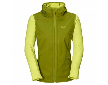 Jack Wolfskin ROLLER COASTER 3in1 jacket for women green tea