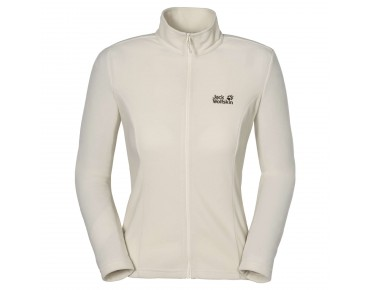 Jack Wolfskin GECKO women's fleece jacket white sand