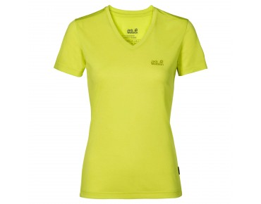 Jack Wolfskin CROSSTRAIL women's t-shirt bright absinth