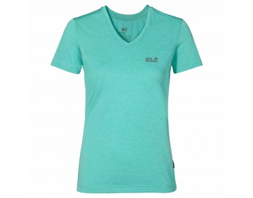 Jack Wolfskin CROSSTRAIL Damen T-Shirt pool blue