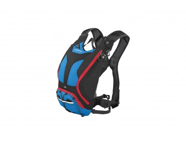 SHIMANO UNZEN II 6 backpack with hydration system imperial blue