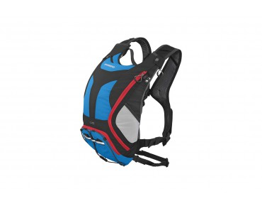 SHIMANO UNZEN II 10 backpack with hydration system imperial blue