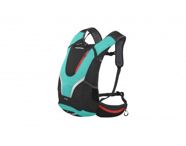 SHIMANO ROKKO II 12 backpack black/ viridian green