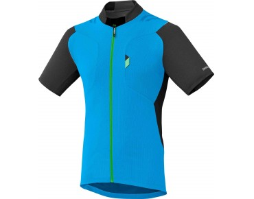SHIMANO EXPLORER jersey lightning blue/black