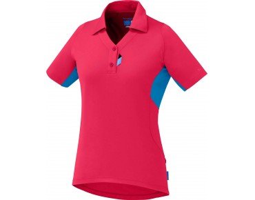 SHIMANO POLO women's jersey jazzberry