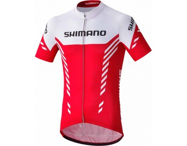 SHIMANO PRINT jersey red