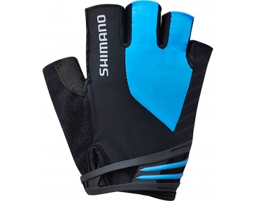 SHIMANO CLASSIC short finger gloves blue
