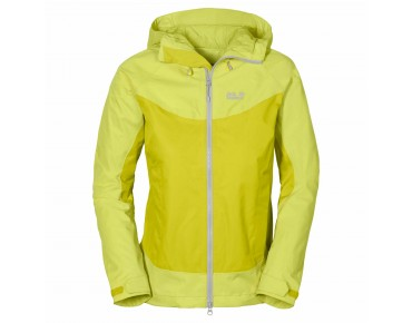 Jack Wolfskin RIDGE women's jacket wild lime