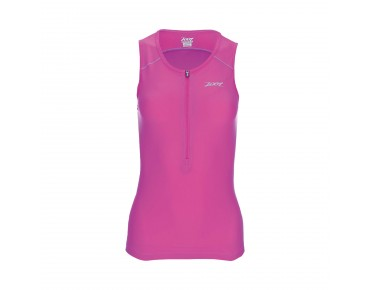 ZOOT ACTIVE TRI MESH women's tri top passion fruit