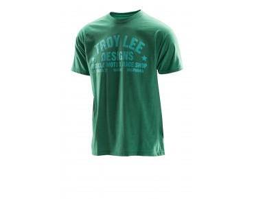 Troy Lee Designs RACESHOP T-shirt heather green/green