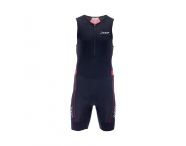 ZOOT PERFORMANCE trisuit race day red stripe