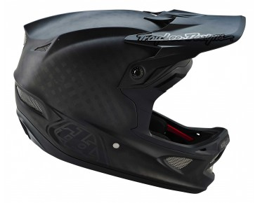 Troy Lee Designs D3 CARBON Vollvisierhelm MIDNIGHT black