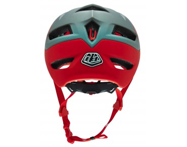 Troy Lee Designs A1 MTB-Helm DRONE grey/red